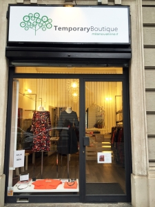 Margherita Perilli temporary store