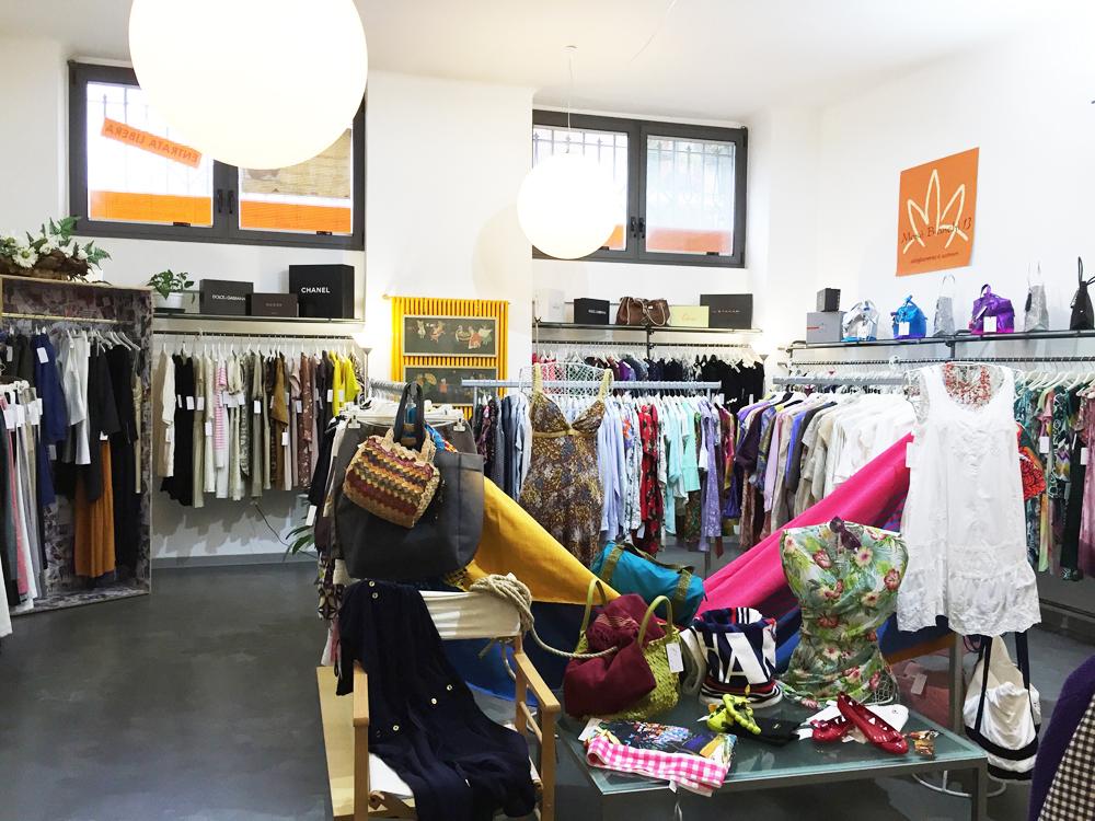 Mosè Bianchi 13: ma come è fashion questo store dell'usato!
