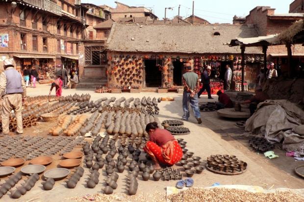 Bhaktapur, nella valle di Kathmandu