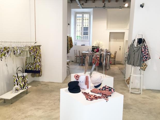 KC beachwear, la temporary boutique di via Tortona