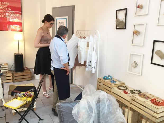 L'Atelier di out of fashion: Ileana e Rino