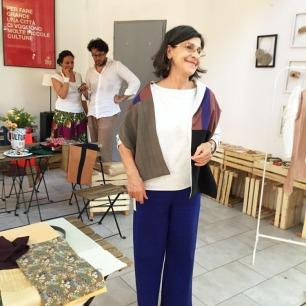 Ulla all'Atelier di out of fashion