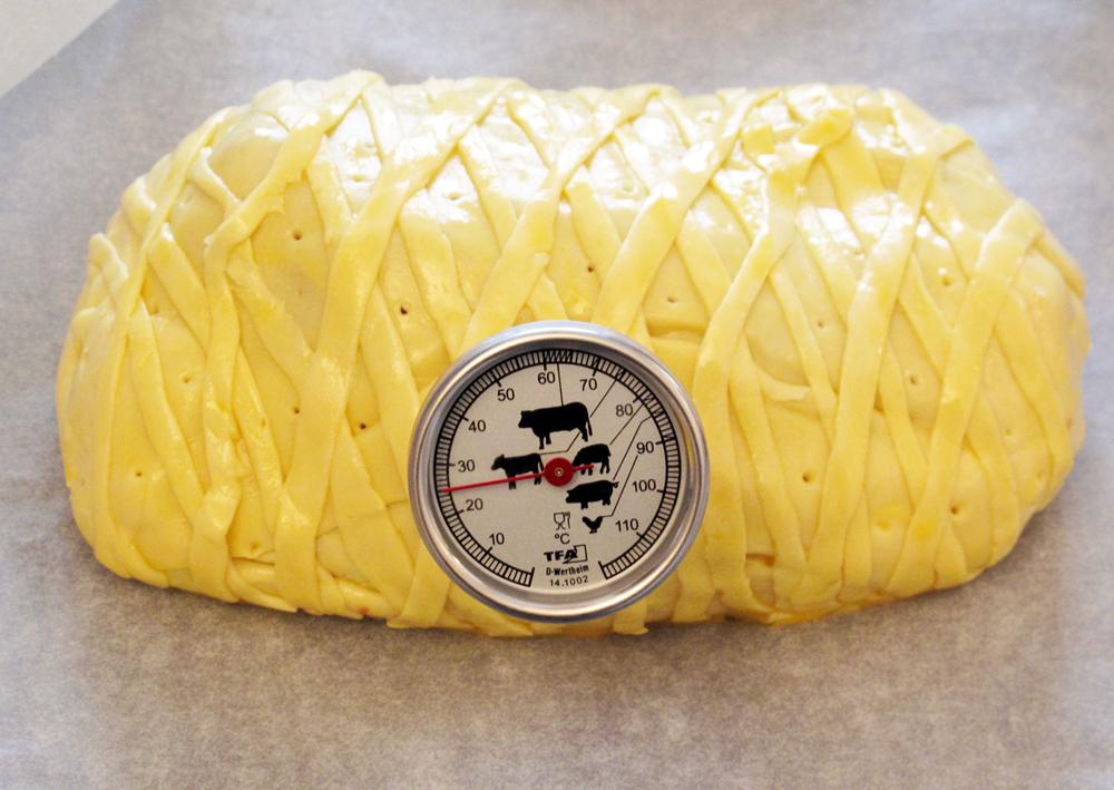 Filetto di manzo in crosta, copertura