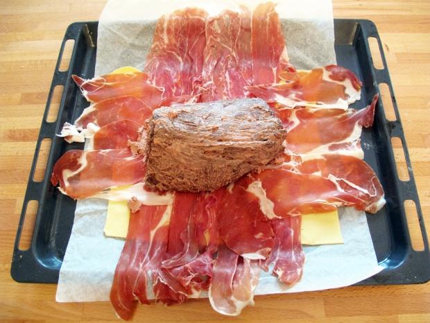 Filetto di manzo in crosta, farcitura