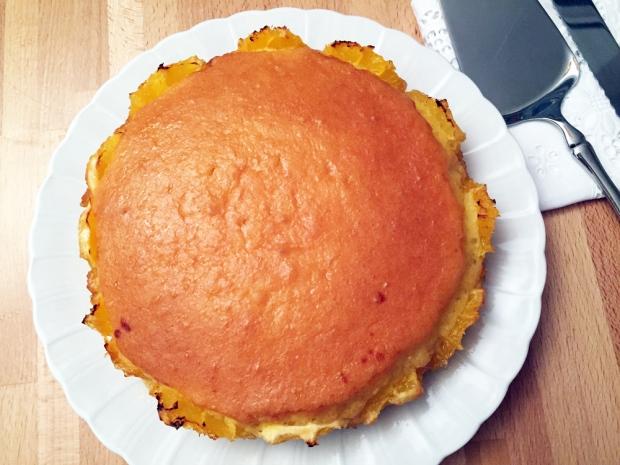 Torta di arance fresche al caramello