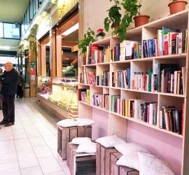 Mercato di Lorenteggio, la libreria