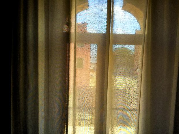 Camera con Vista, finestra